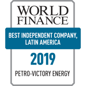 2019 Best Independent Oil and Gas Company in Latin America